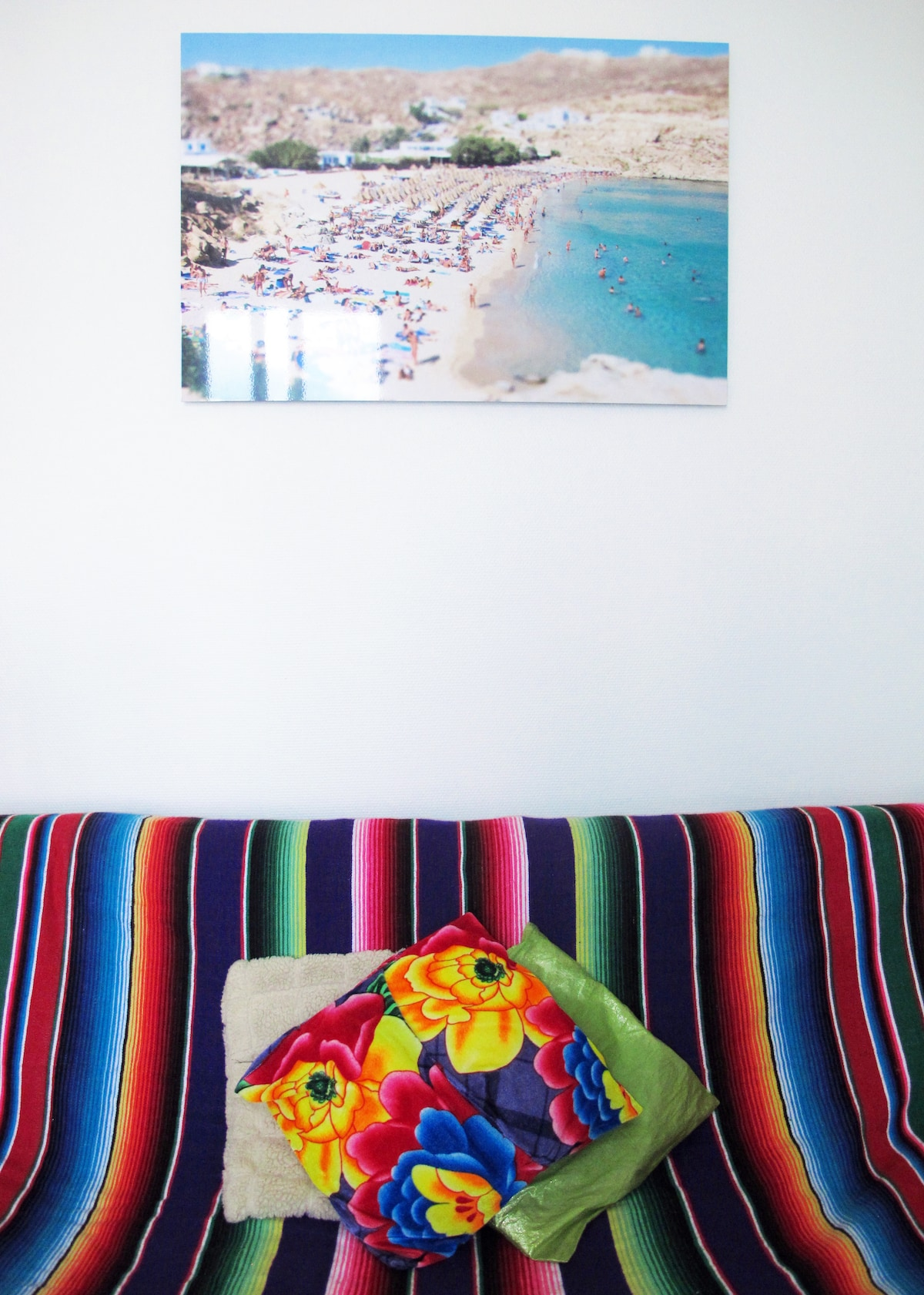 New Decoration In The Living Room, Photo Of A Mykonos Beach