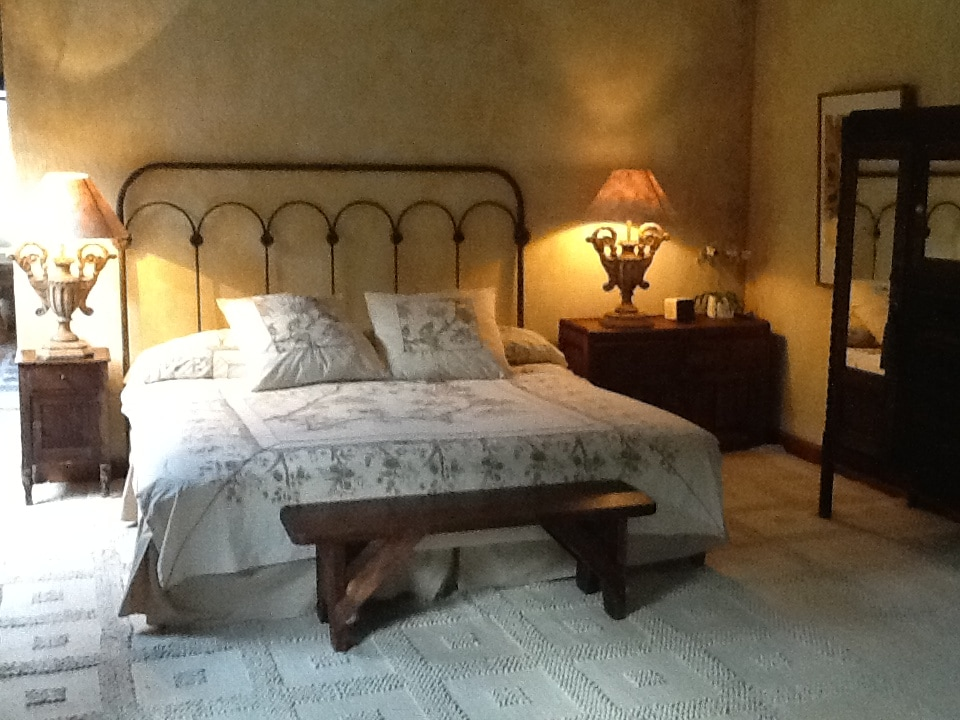 Master bedroom  suite with King  size bed