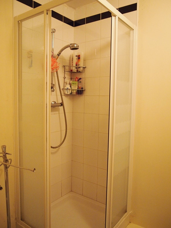 Bathroom with great shower