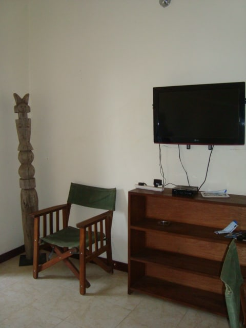 Well furnished and Satellite TV available