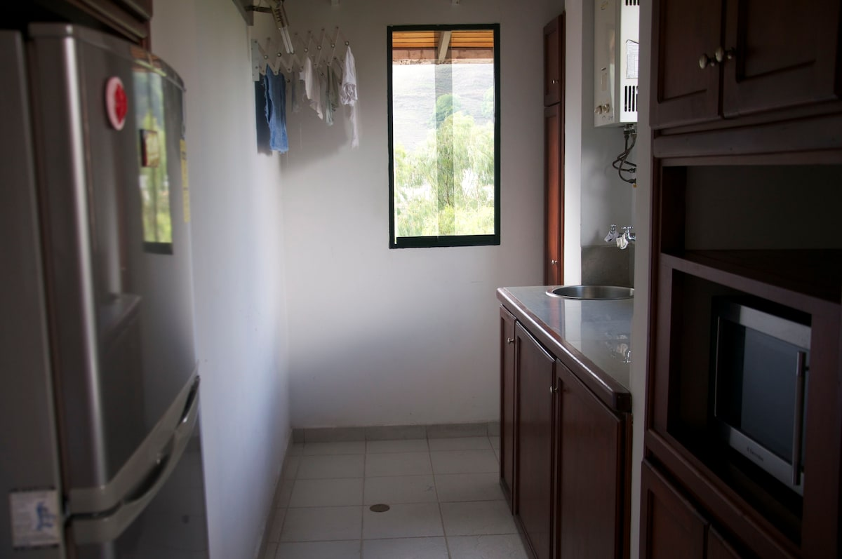 washing place and water heater