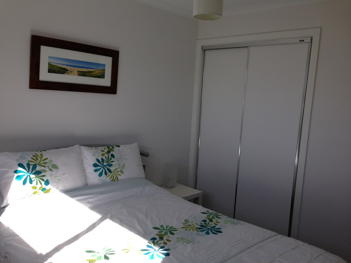Your private Double room with built in robes