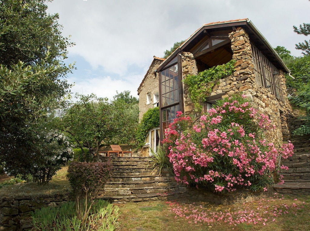 La Bergerie at Les Horts viewed from the garden