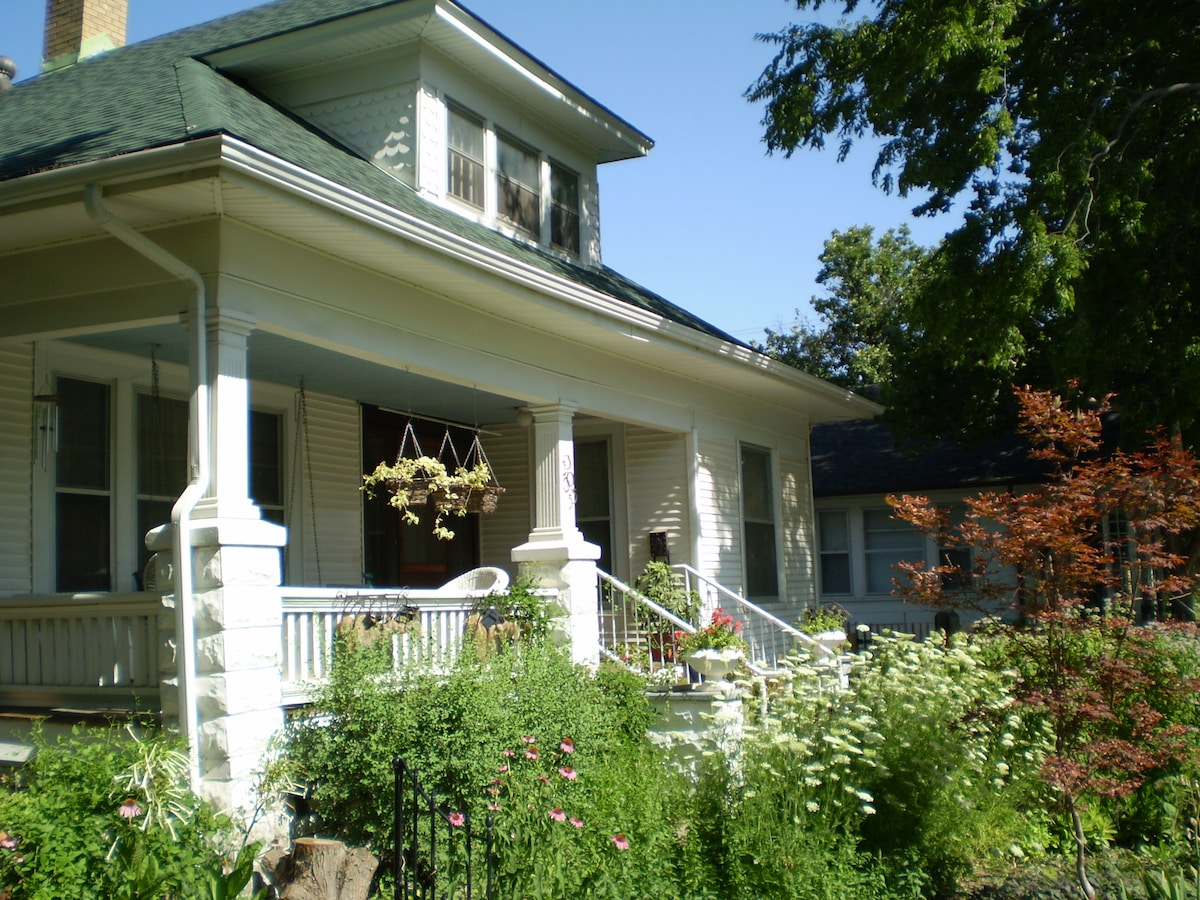 Delano Bed and Breakfast is a perfect place to relax and still be close to all the city has to offer.