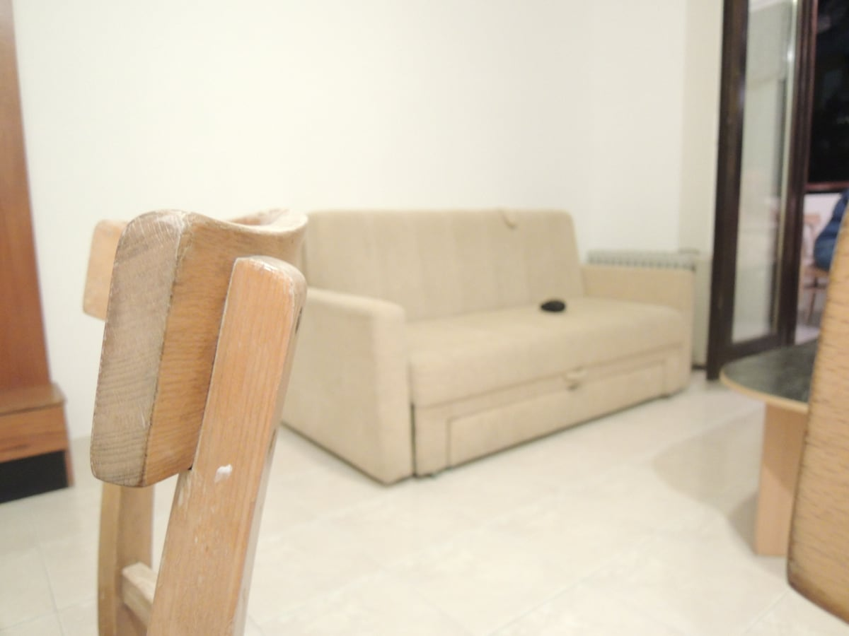 Living room with sofa for two