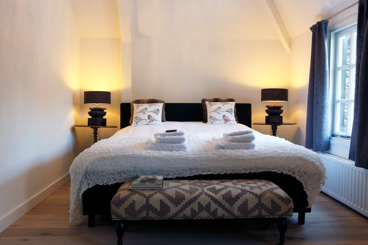 Het heerlijke king size bed!