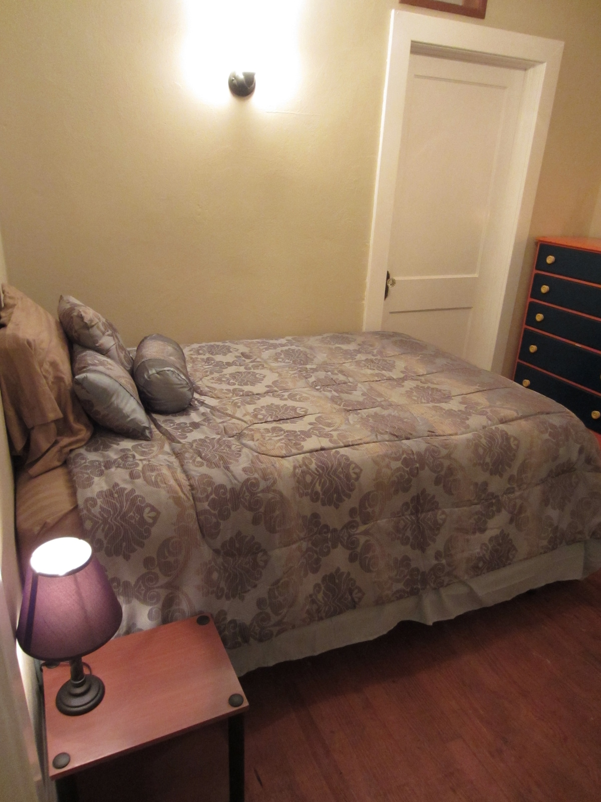 Second bedroom. Full size bed with pillow top mattress.