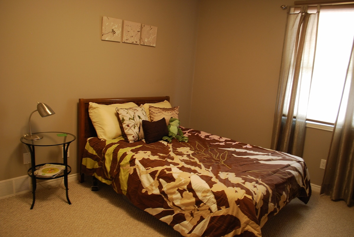 Private bedroom/bathroom available
