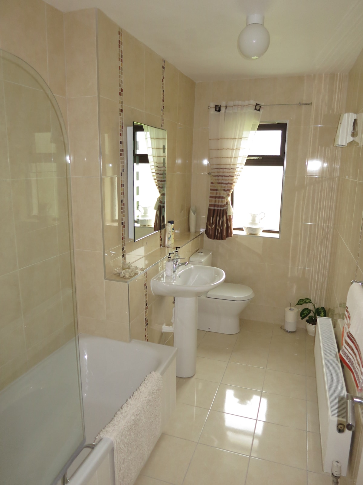 Bathroom (with bath and shower)