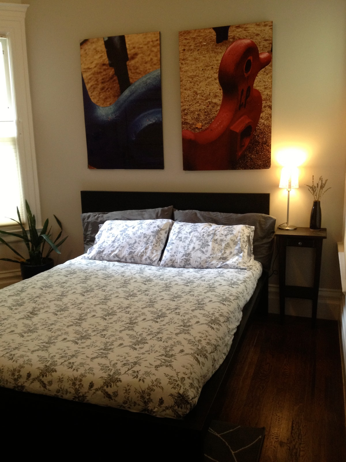 Your own private room! Bright & Sunny with two windows. Brand new bed, mattress, linens & pillows.