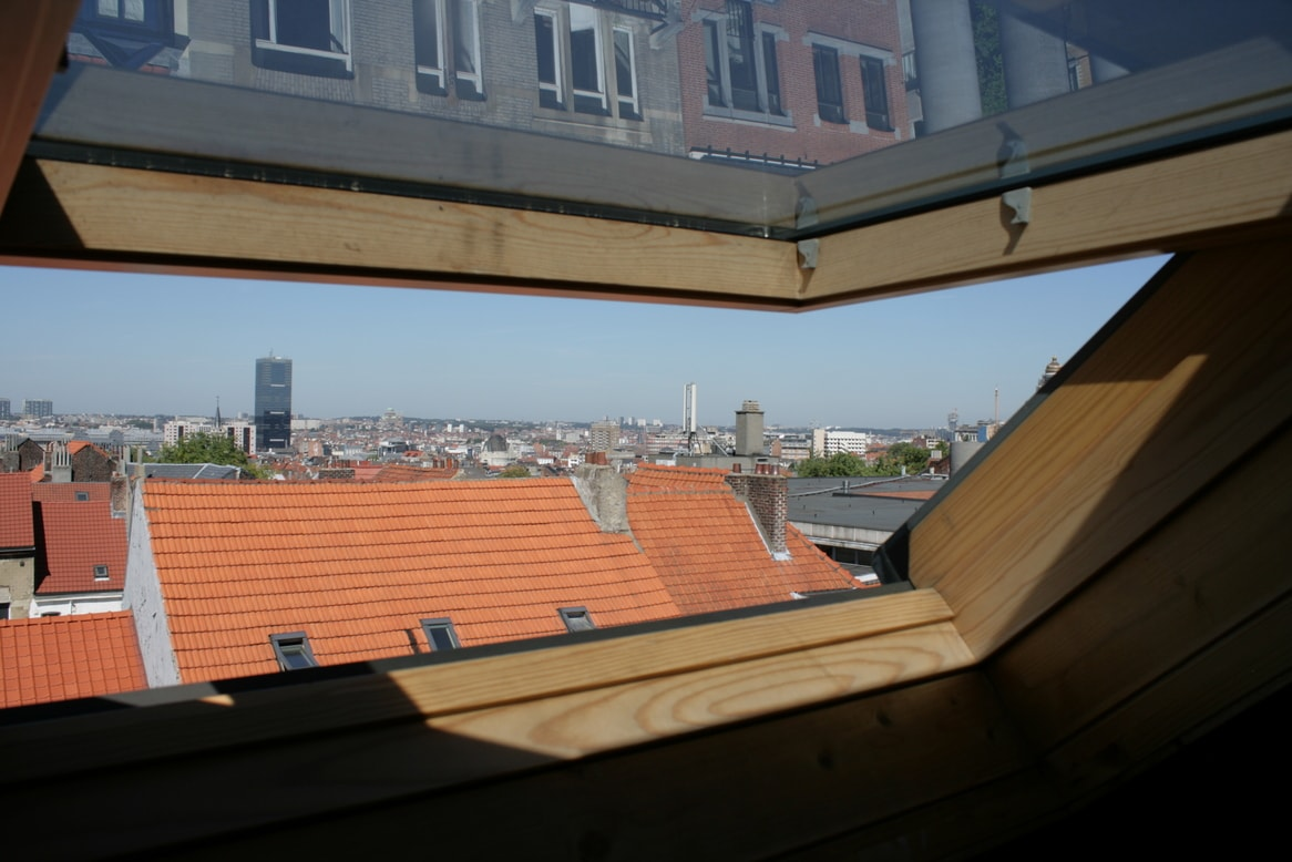 vue depuis la mezzanine / view from the mezzanine