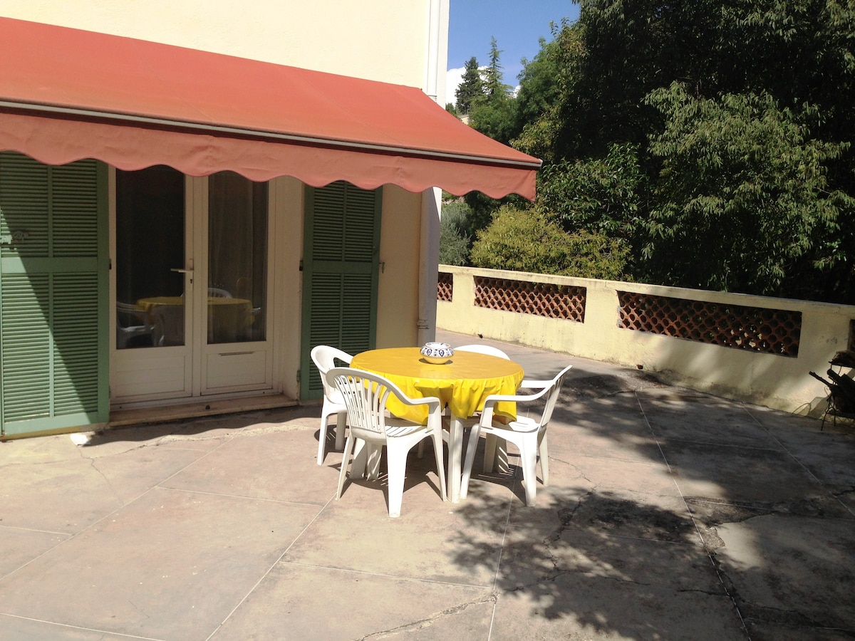 Your own private terrace and bbq to dine al fresco