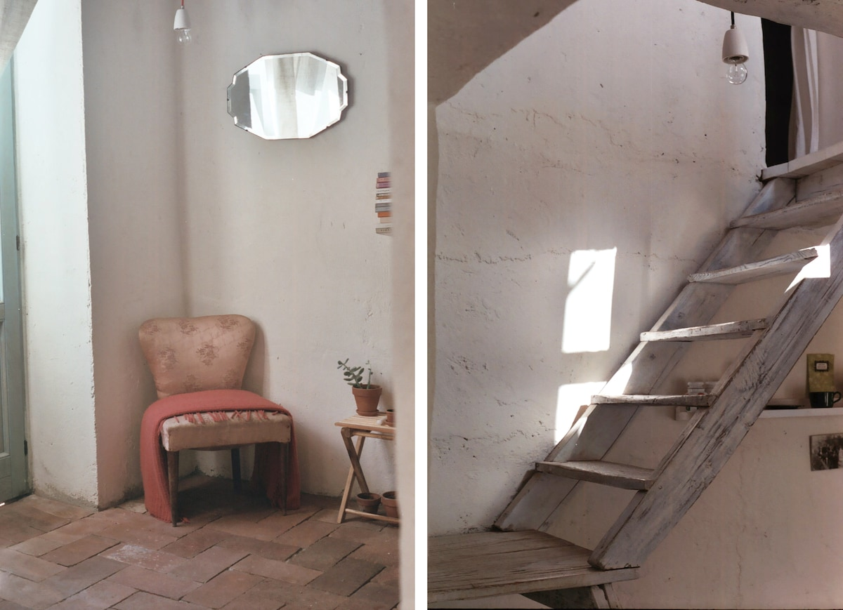 internal passage and staircase
