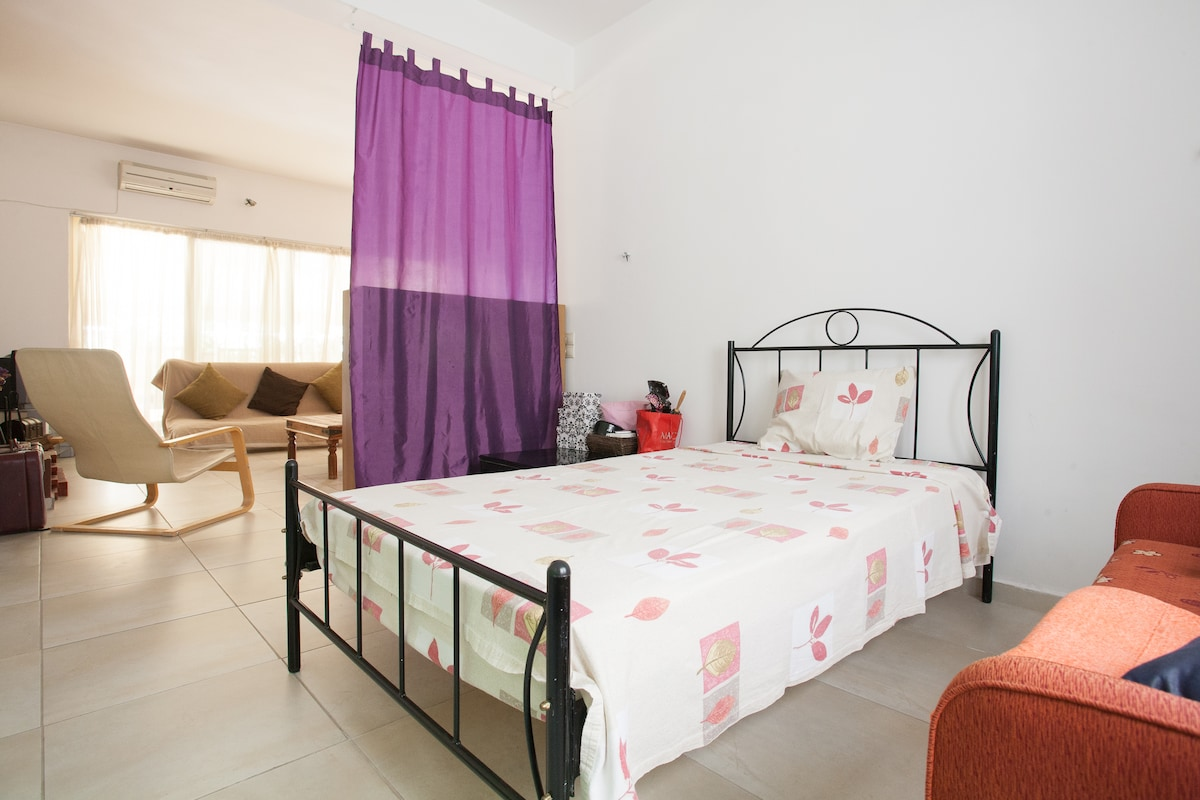 Athens spacious room-Ideal location