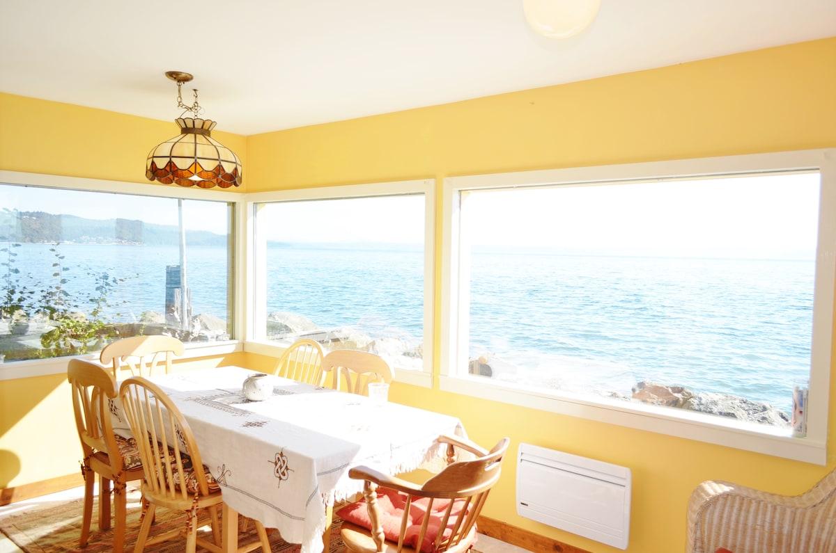 private Vashon Island beach house