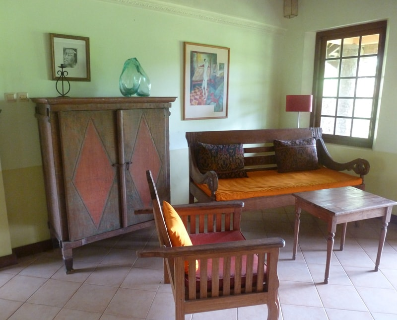Ubud 3 Bedroom Cottage Country Home - living 3