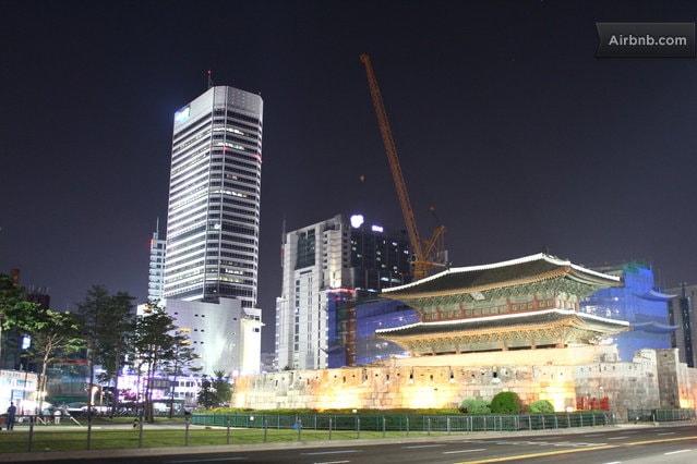 10~15 min. by walk : Dongdaemun  Doota(Doosan Tower : Famous shopping mall)