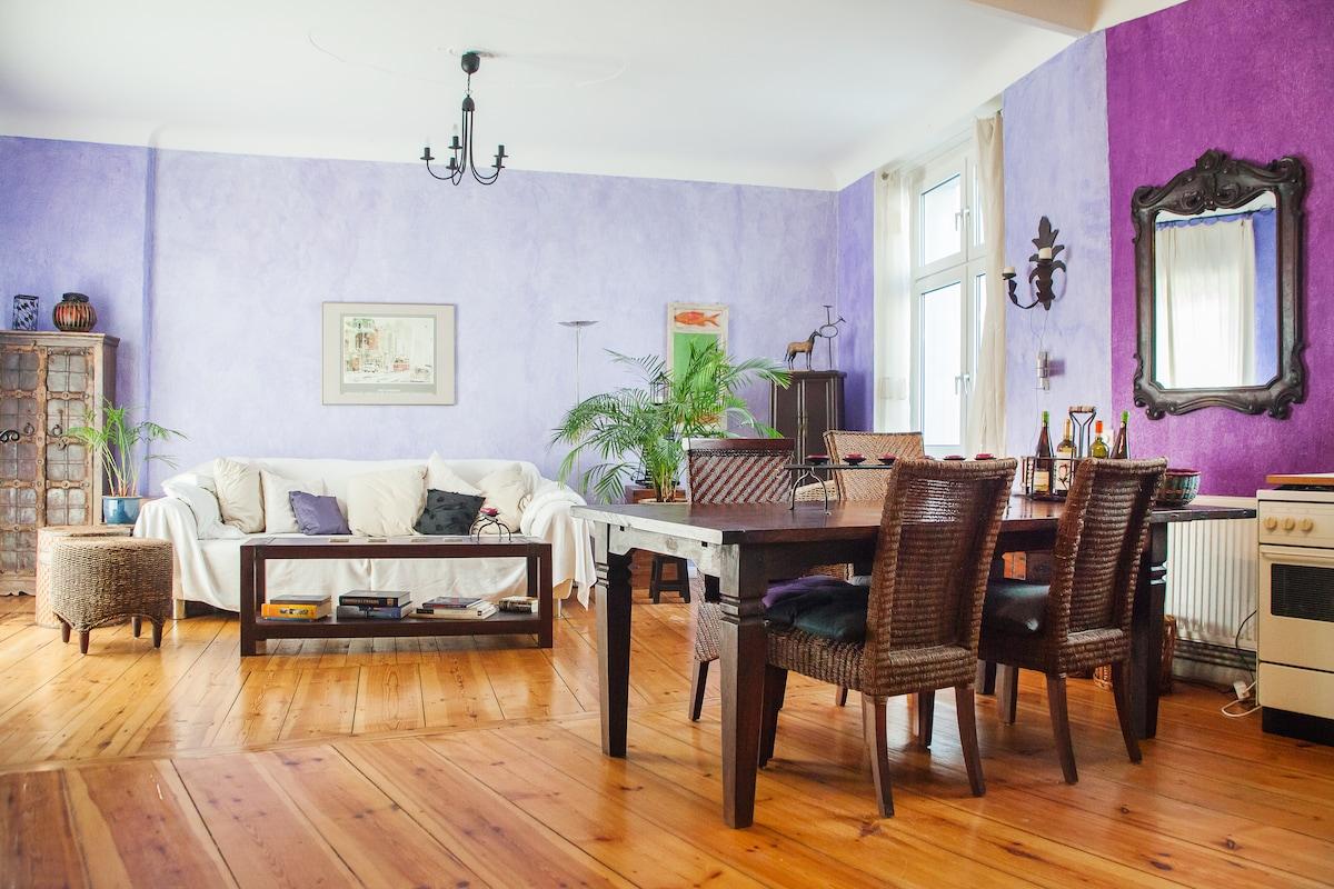 Beautiful flat in Schöneberg