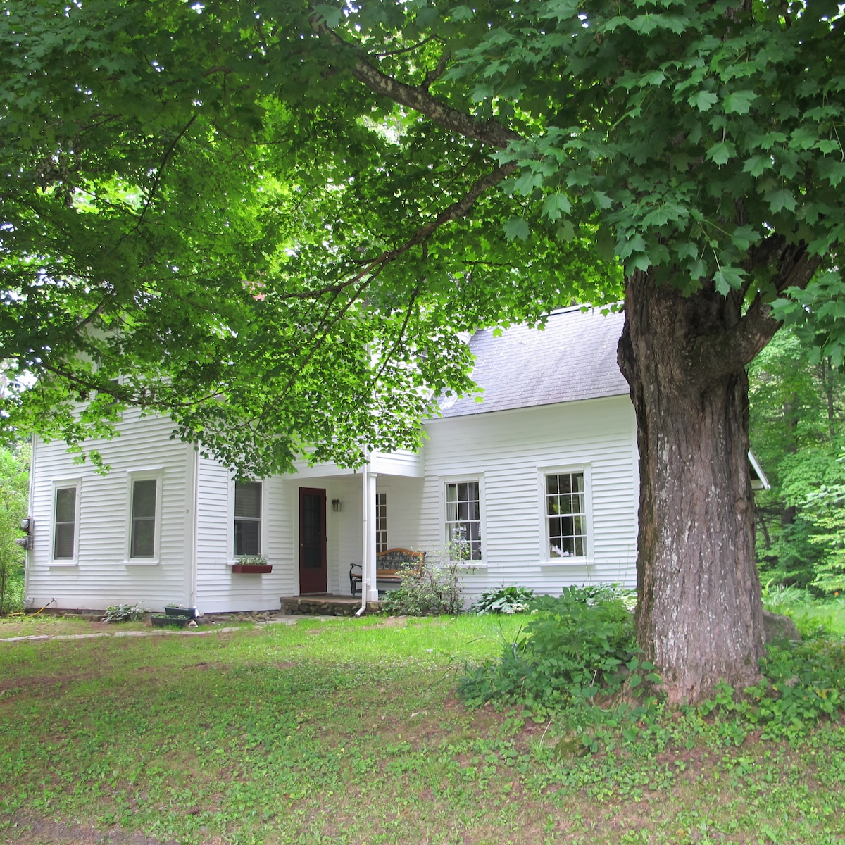 charming 3 bedroom home, former schoolhouse