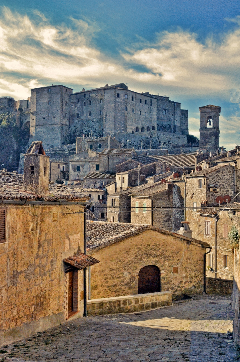 Sorano, old town