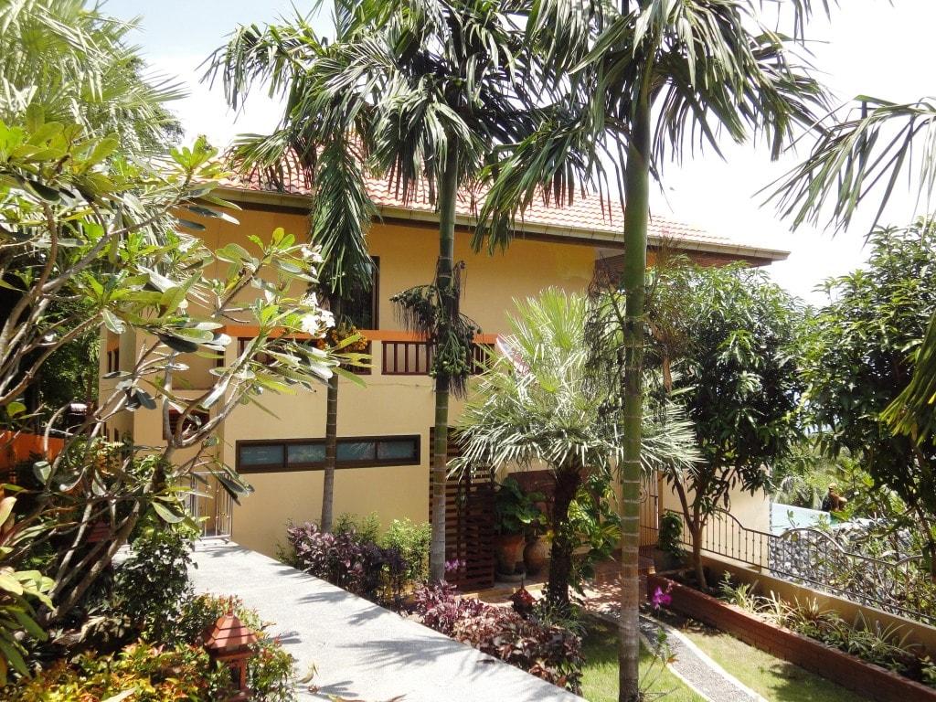Villa Taling Ngam on arrival