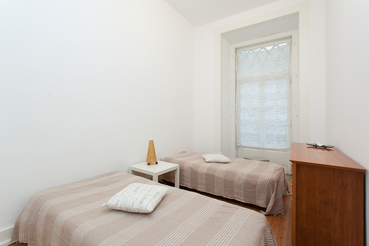 Double Room in Lisbon City Centre!