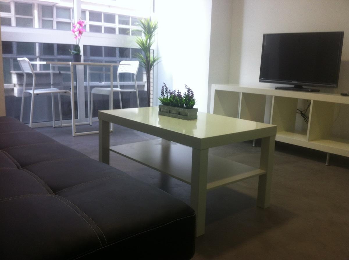 salón/ comedor/ cocina muy cómodo y luminoso