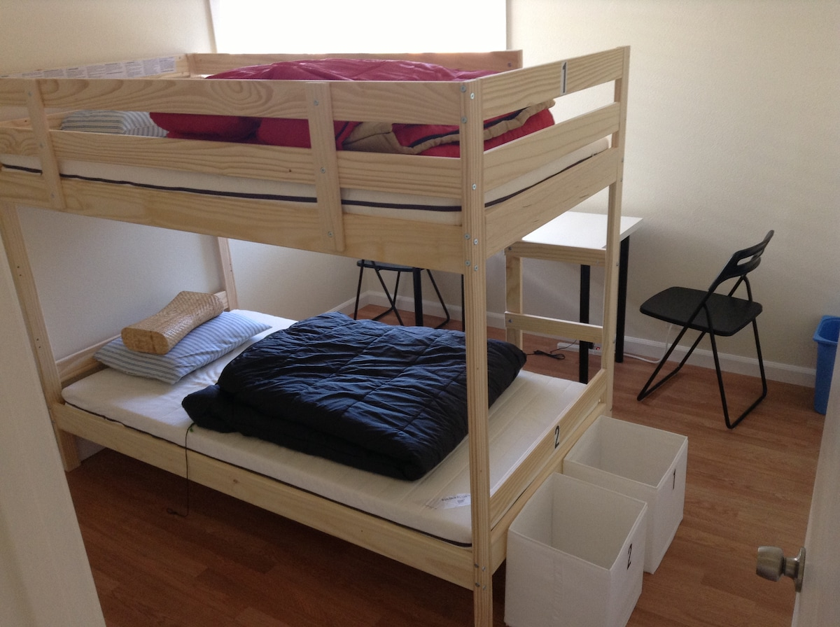 Silicon Valley Hacker House - bed#5