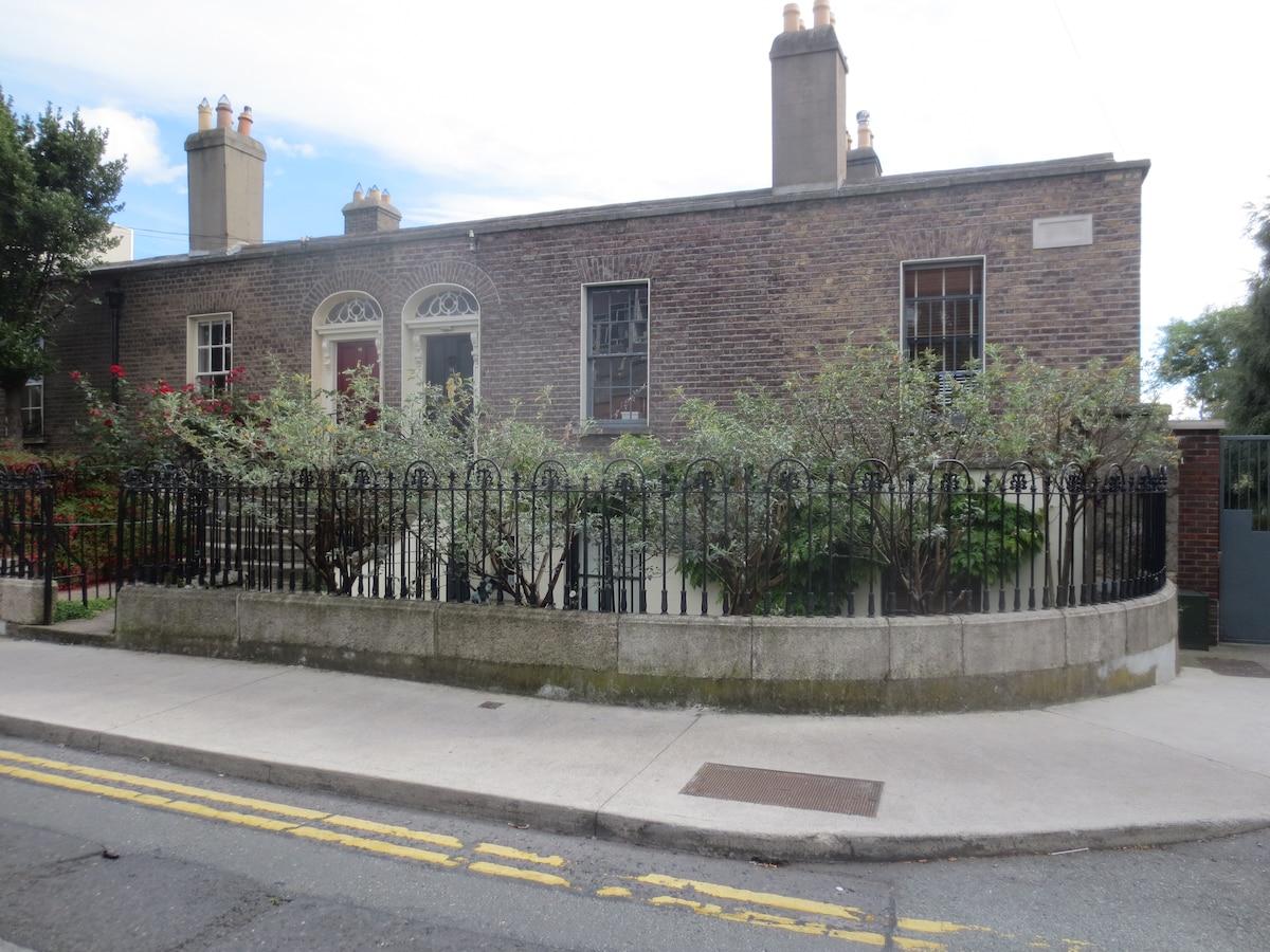 1838 villa on the south side of Dublin city centre