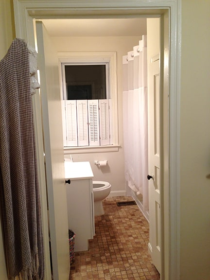 Bathroom - shared with one other guest