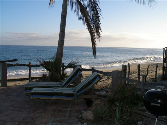 Sea Views from the veranda