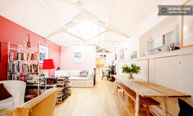 Fantastic warehouse home in Fulham!
