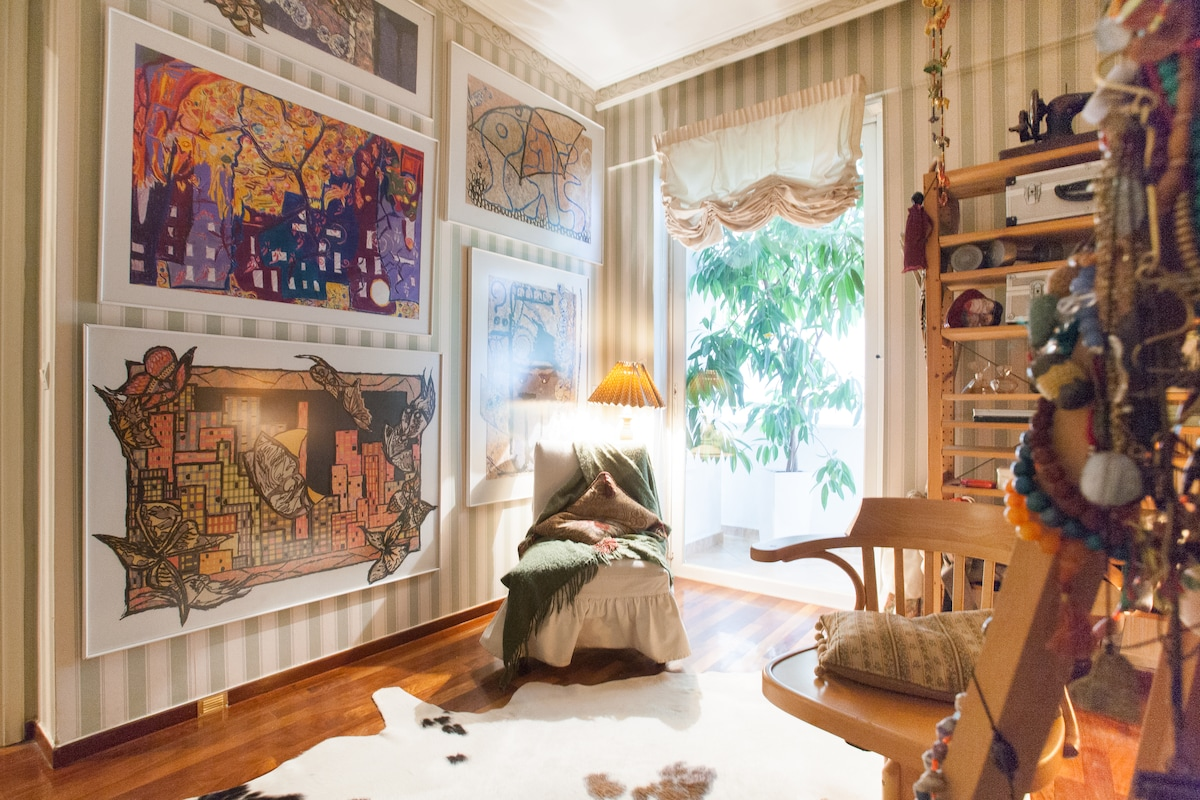 Lovely room in the center of Athens