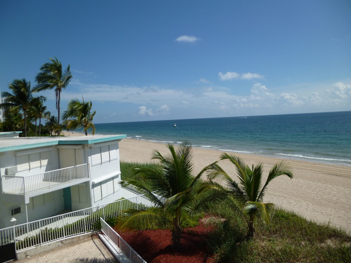 Oceanfront condo in Fort Lauderdale
