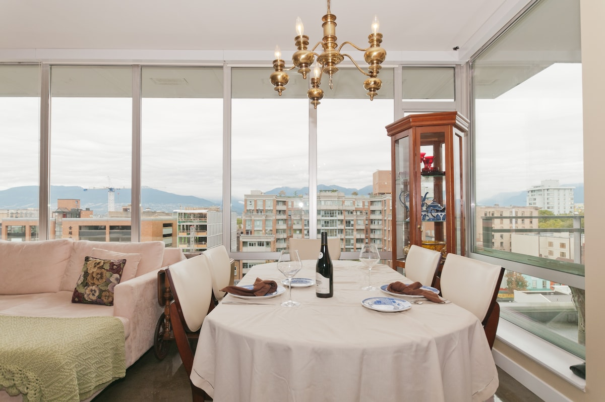 Dine with a view.