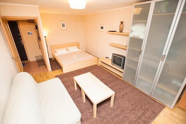 One-bedroom apartment at Taganskaya