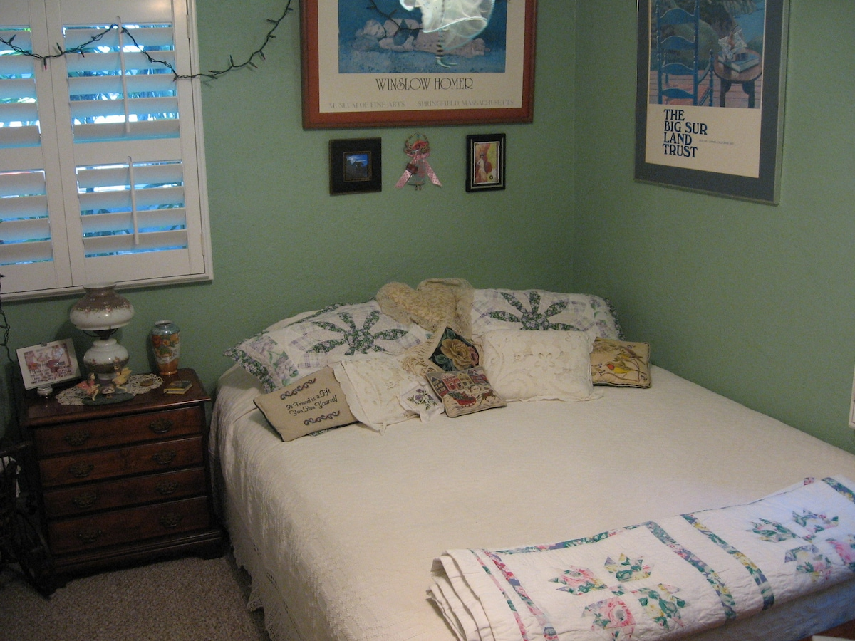Wren's Nest private bedroom