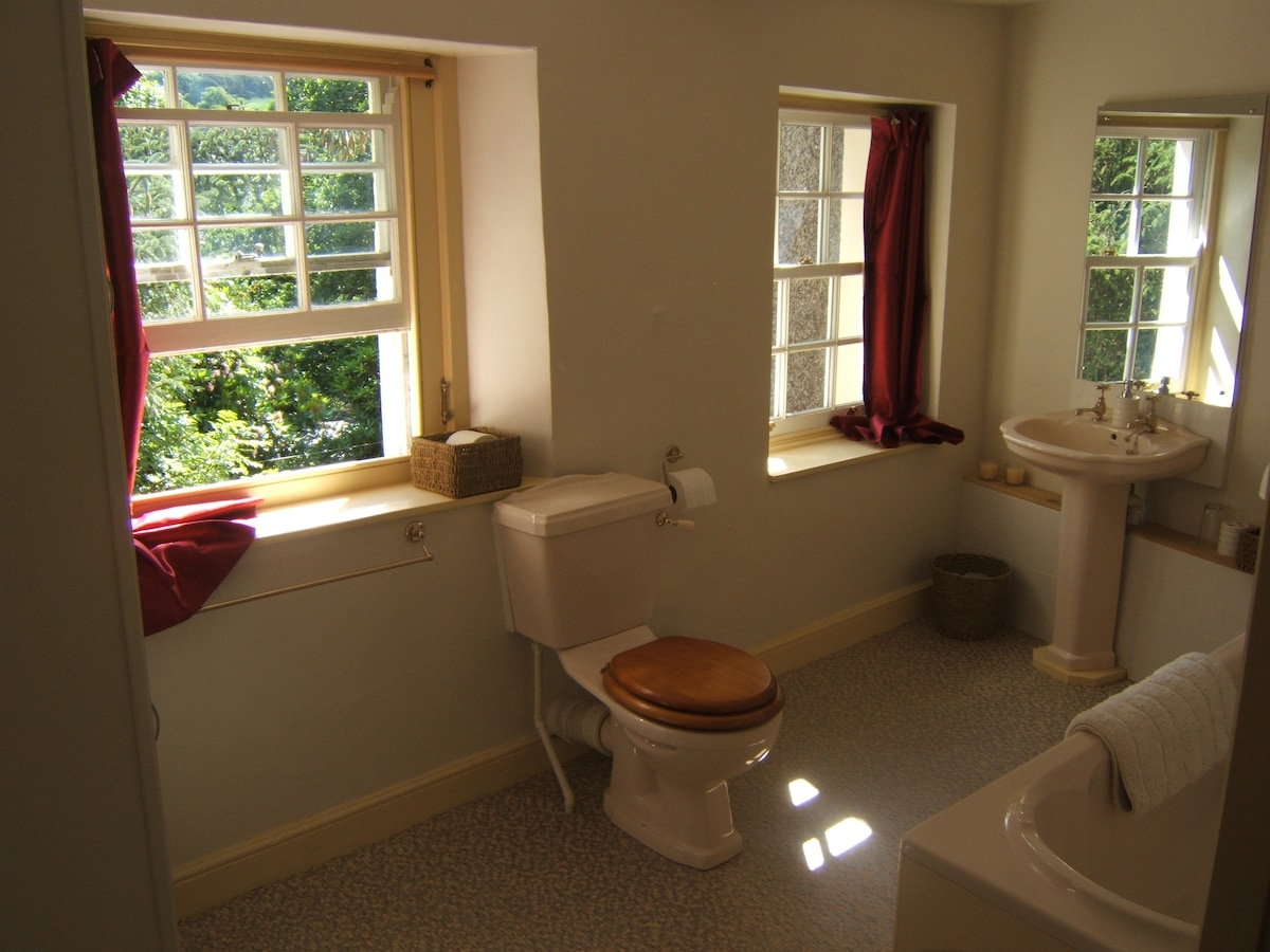 Bathroom - With views over the river