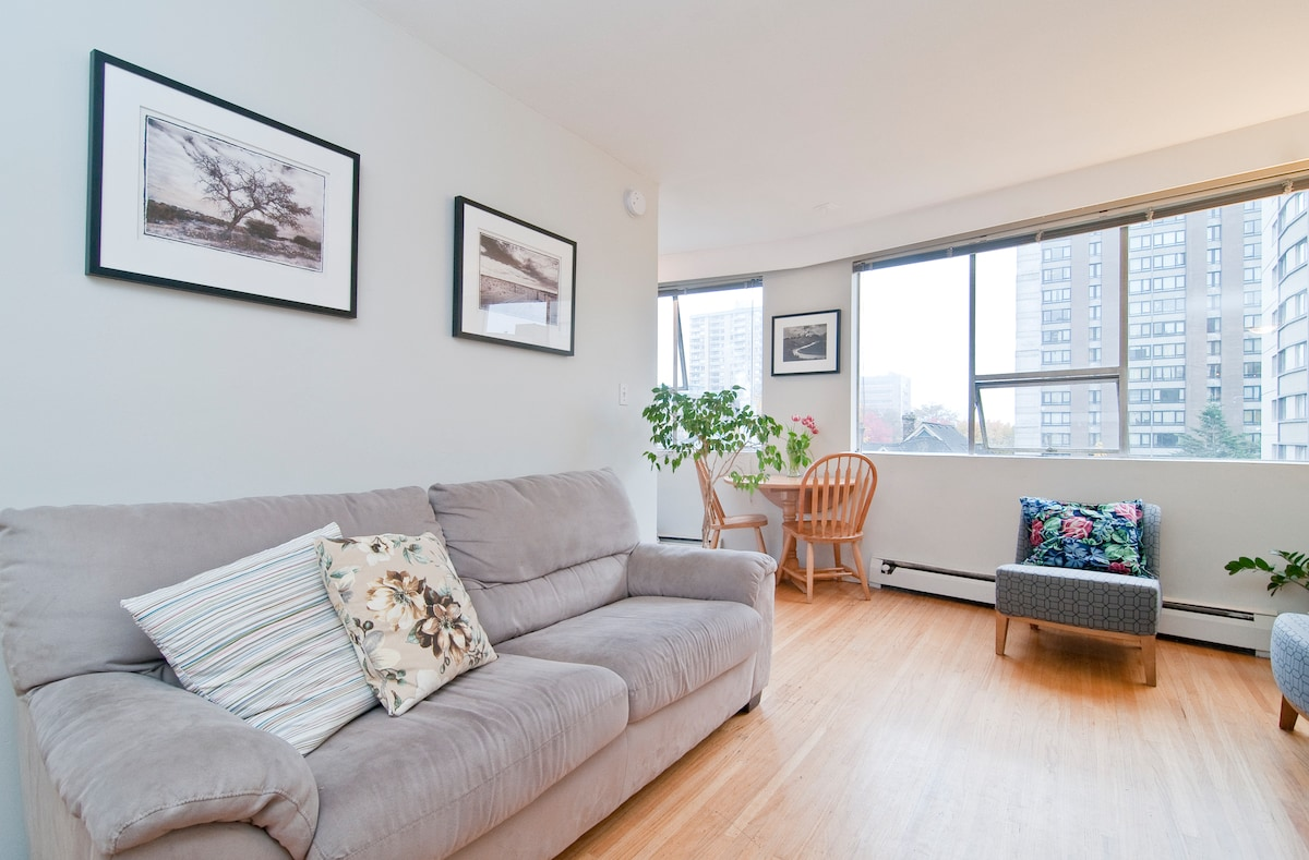 Ideal Location- downtown Vancouver