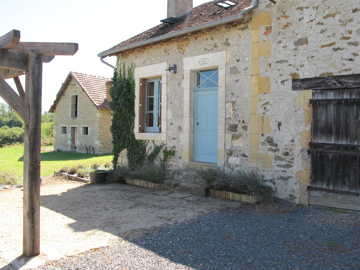 The exterior of the house