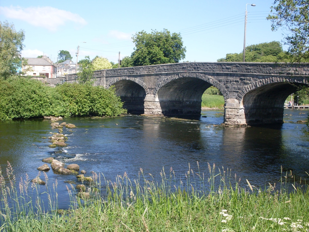 Kilconny Bridge -  over 170 years in use!! Owners House on left of picture beside Erneside Townhouses