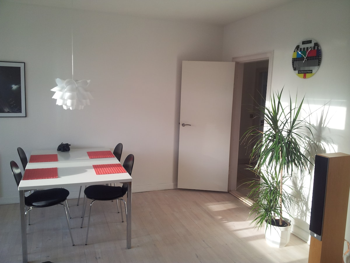 Nice and modern apartment in Odense