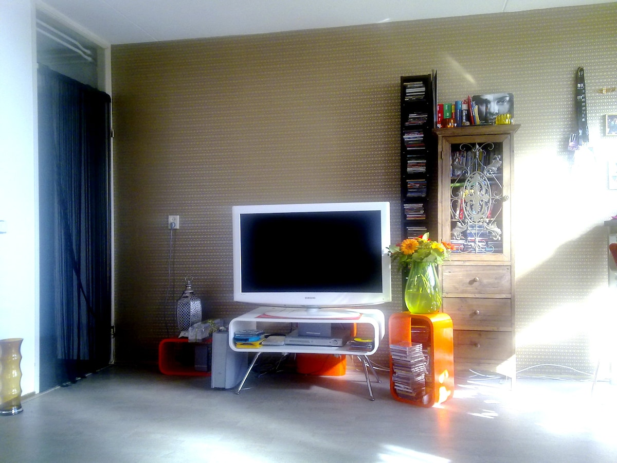 Other side living room 2 (The flatscreen tv is replaced for a smaller one)