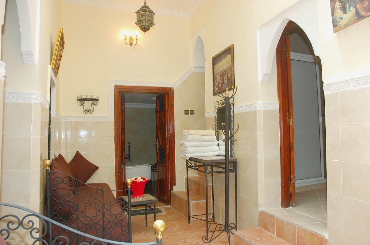 Hall du Riad Miramare