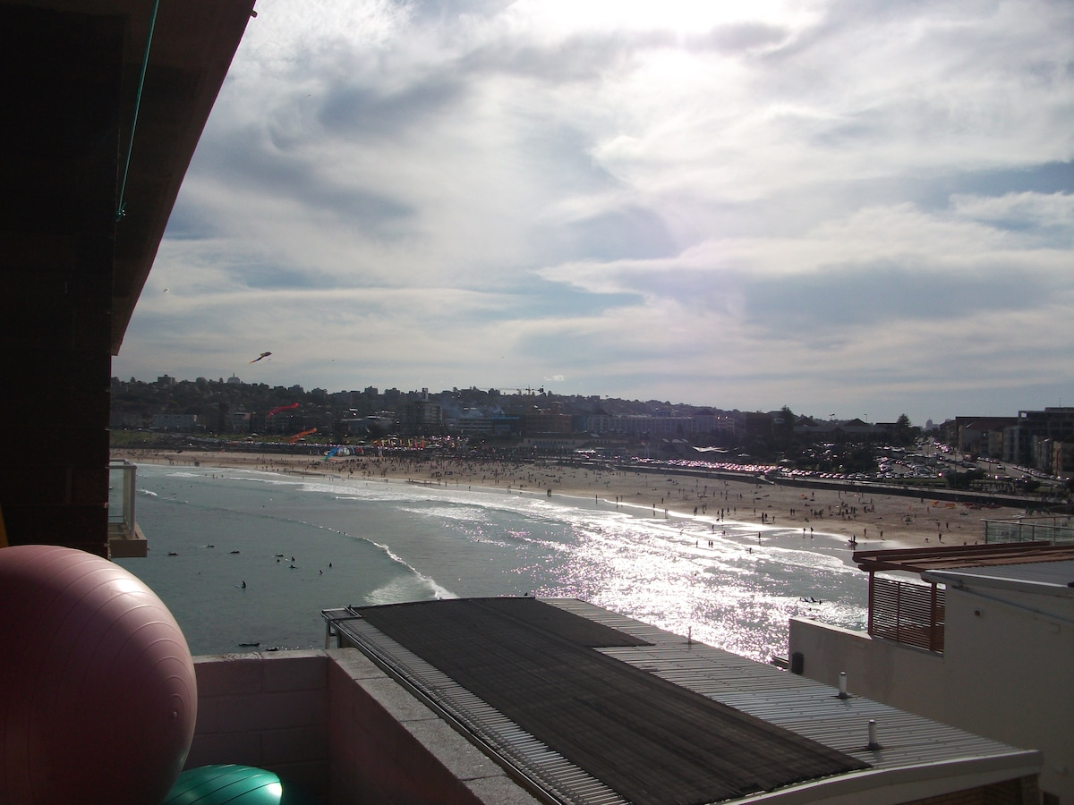 Overlooking the iconic Bondi Beach