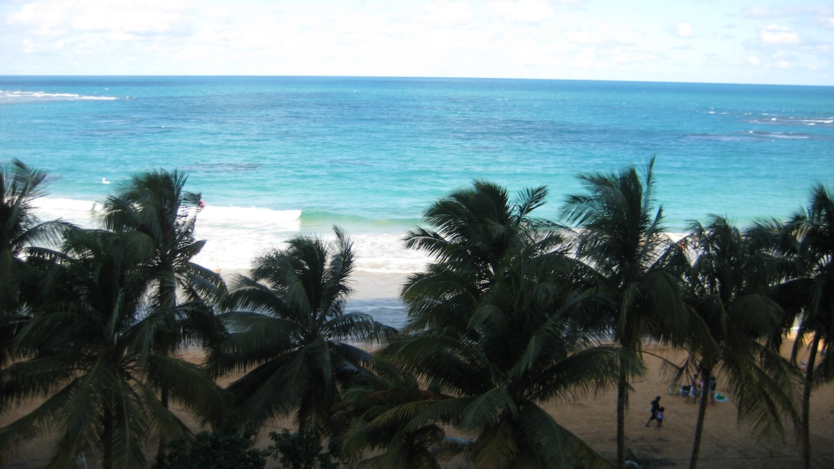Ocean view from the balcony!