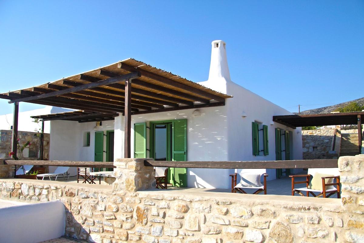 2Bdrm Villa Paros Amazing sea View