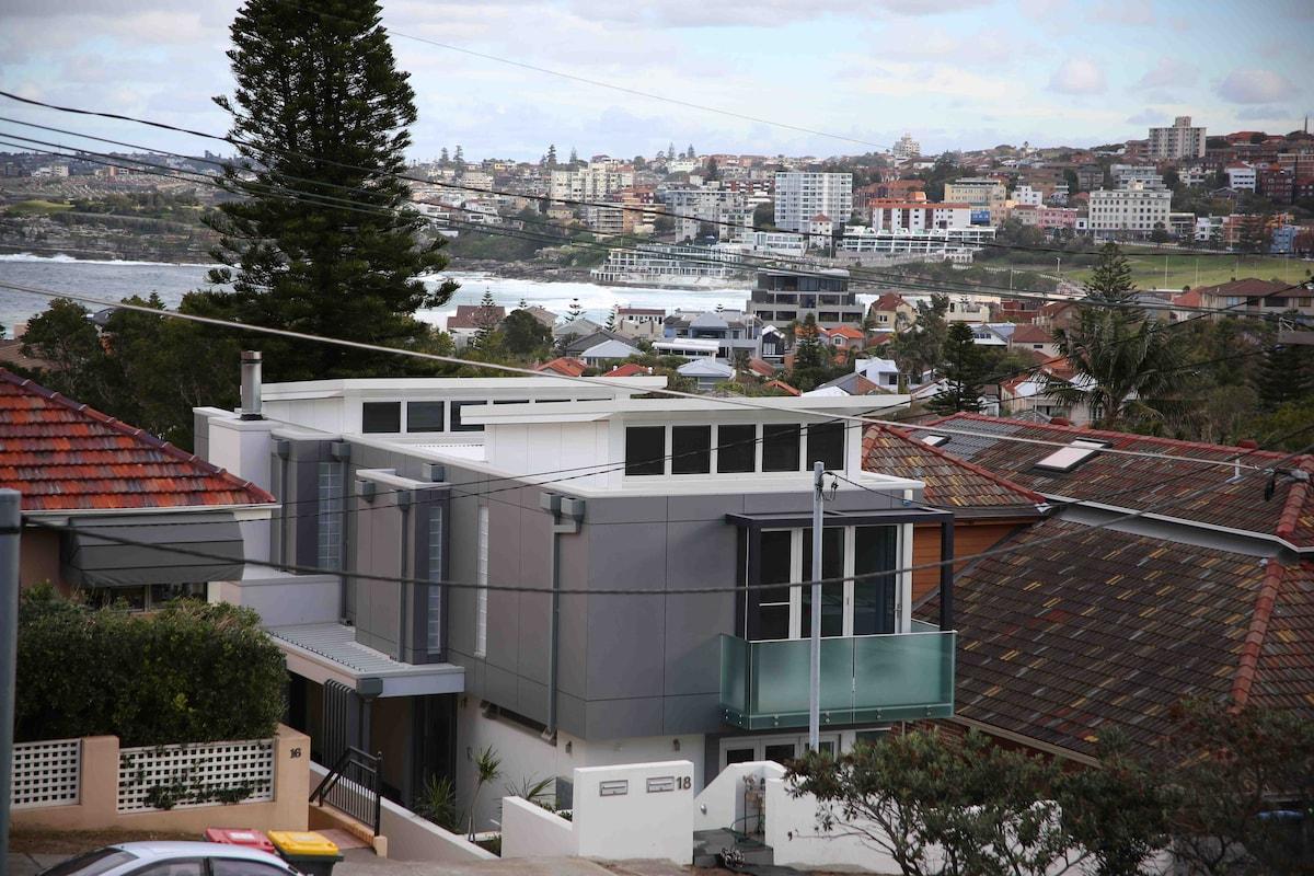 Perfectly Located at Bondi Beach. Brand new Modern Top Level Duplex