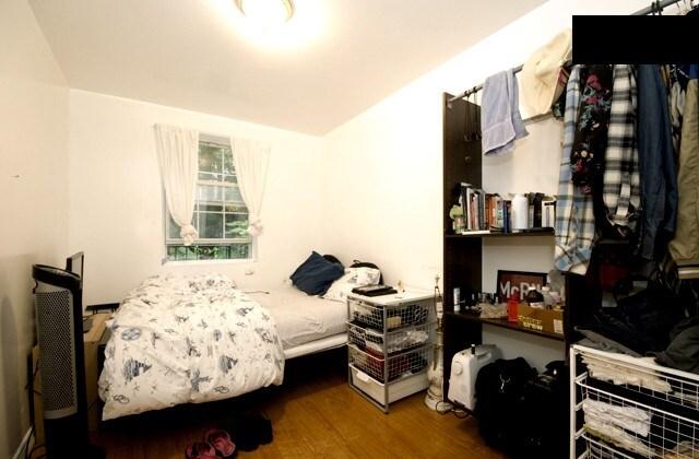Master bathroom in room. 2 beds.