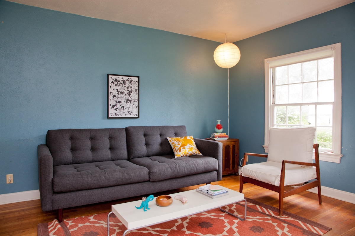 Cheerful South Congress home
